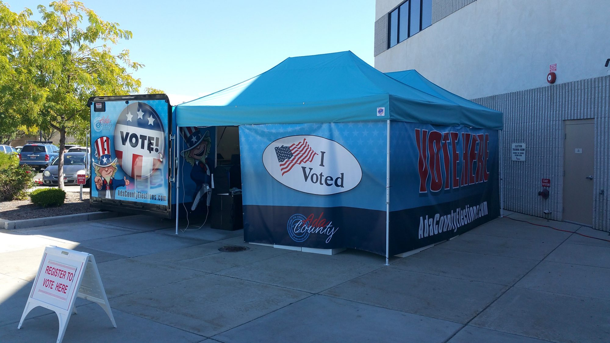 Idaho Attempts to Lure Voters With Food Truck-Style Polls