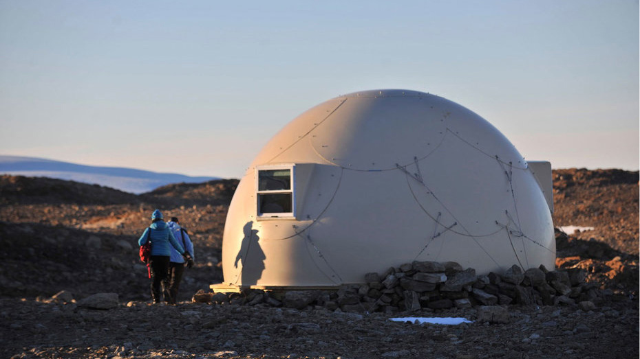 Antarctica Whichaway Camp