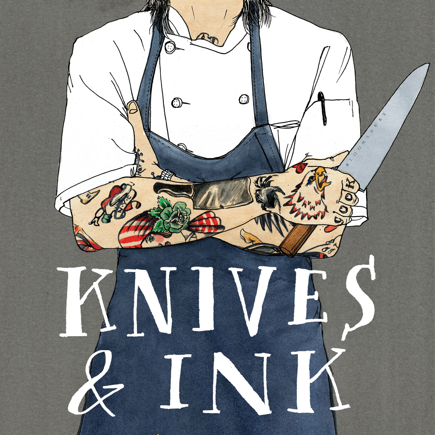 In <i>Knives &amp; Ink</i>, Chefs Tell the Stories Behind Their Tattoos