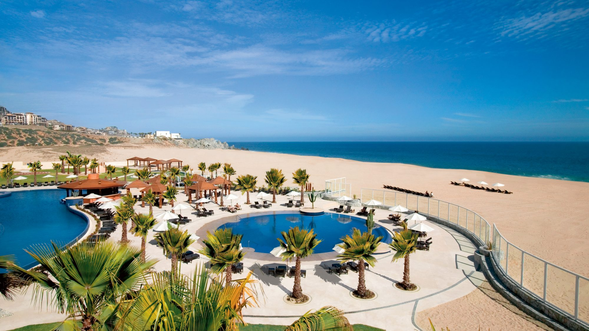 all inclusive resort mexico oceanfront pool