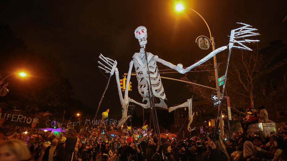 best cities for halloween