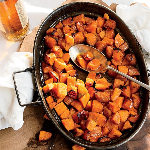Candied Sweet Potatoes with Bourbon