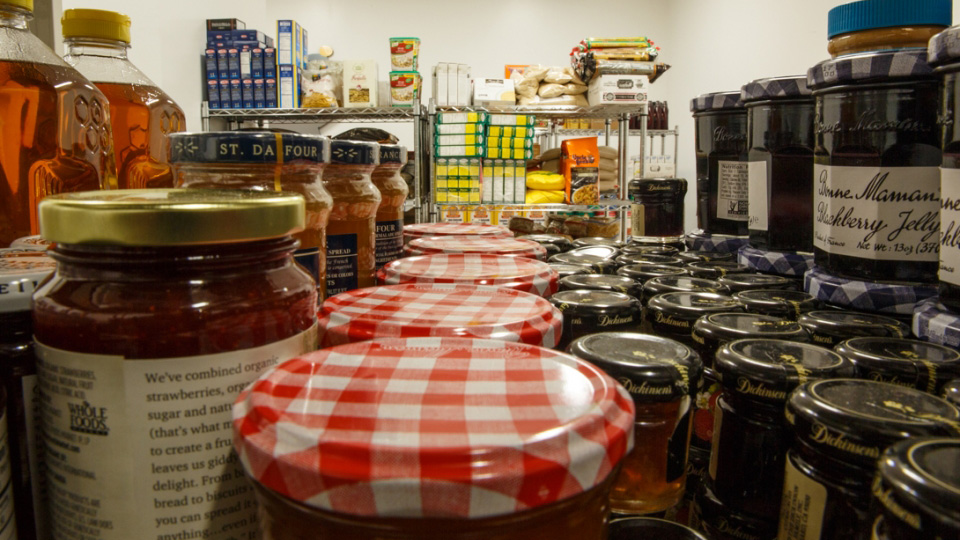 George Washington University Student Food Pantry