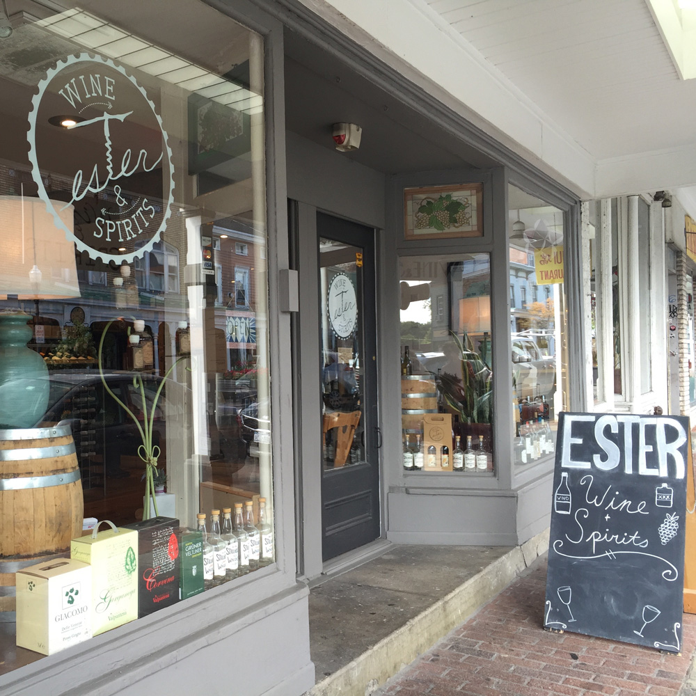 Ester Wine Shop, Kingston