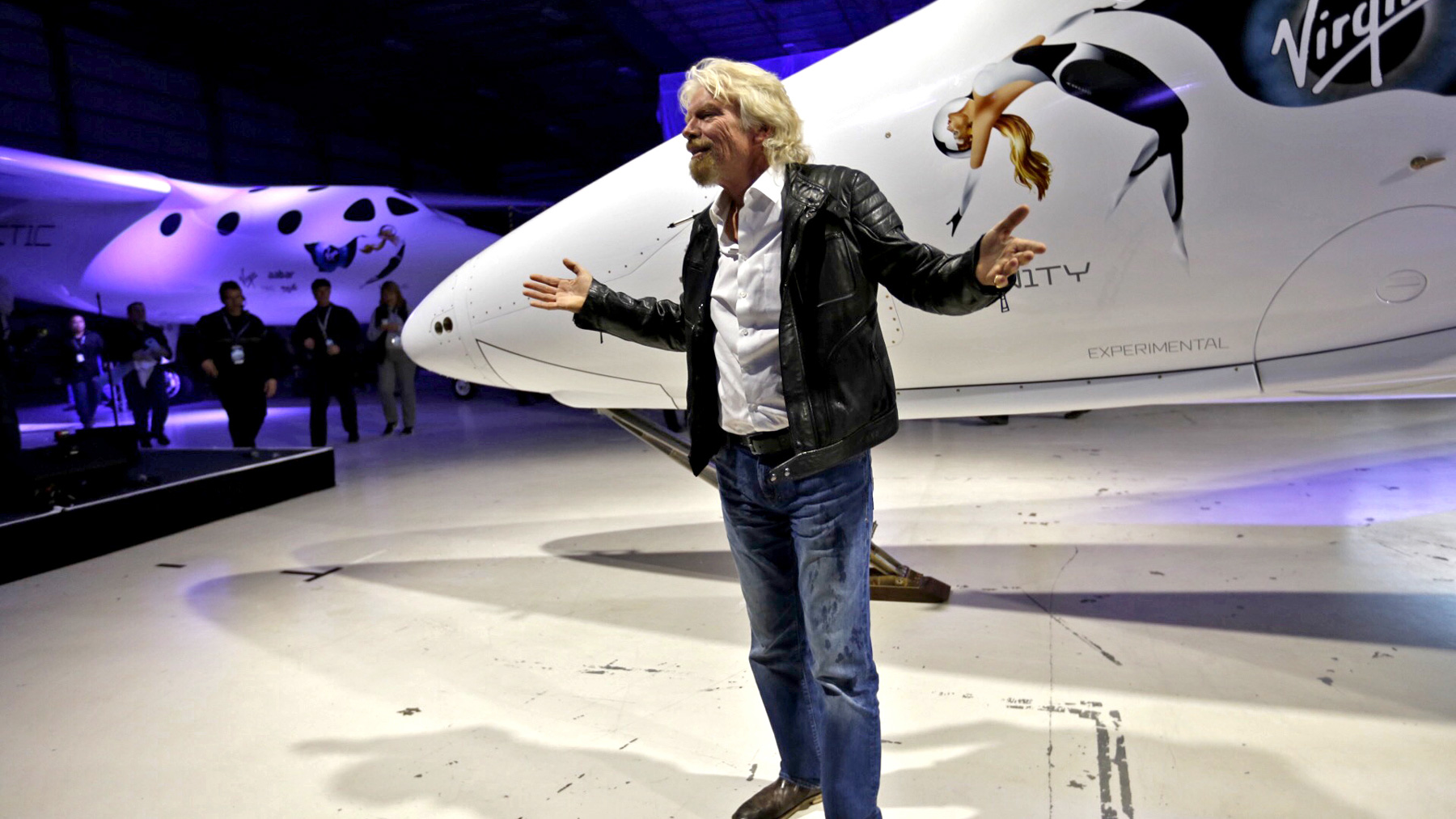 Richard Branson Space Hotels