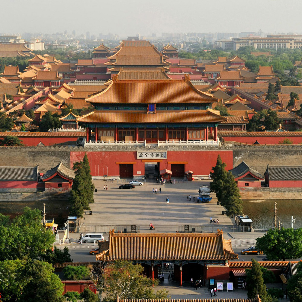1. The Forbidden City (Palace Museum), Beijing