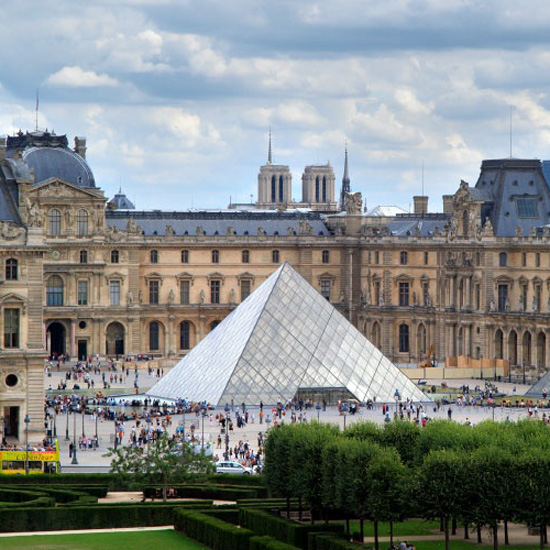 2. The Louvre, Paris