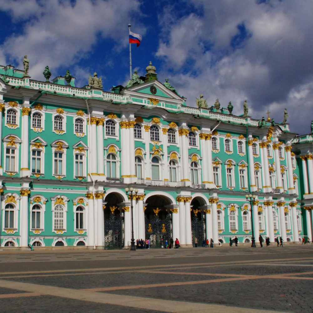 6. The Winter Palace (State Hermitage Museum), St. Petersburg, Russia