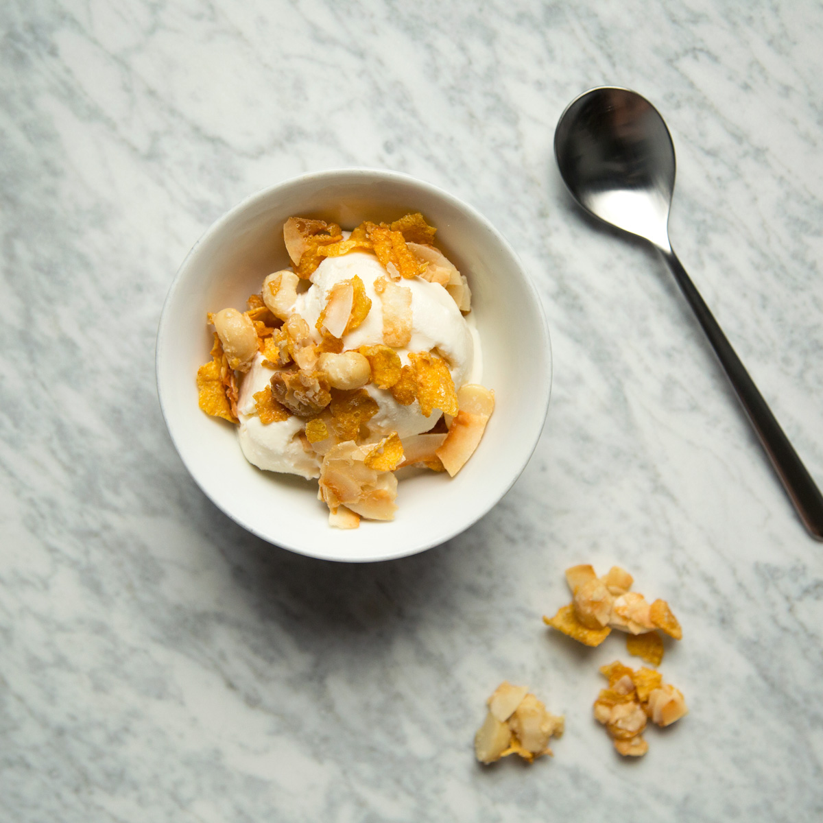 Crunchy Mixed Nut and Coconut Topping
