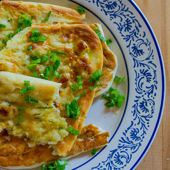 Green Onion Naan