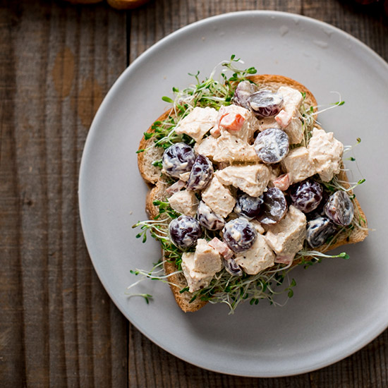 Chicken-and-Grape Salad Sandwich