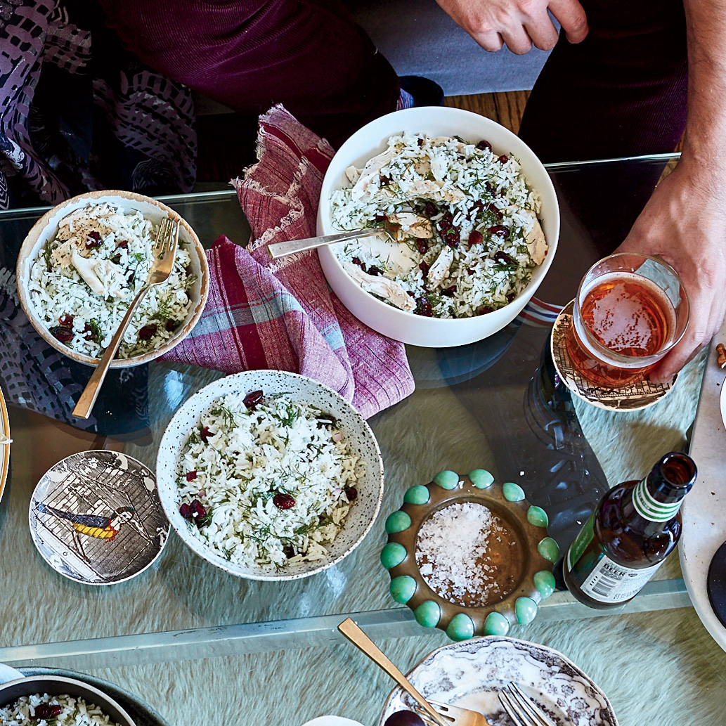 Basmati Rice with Dill and Barberries