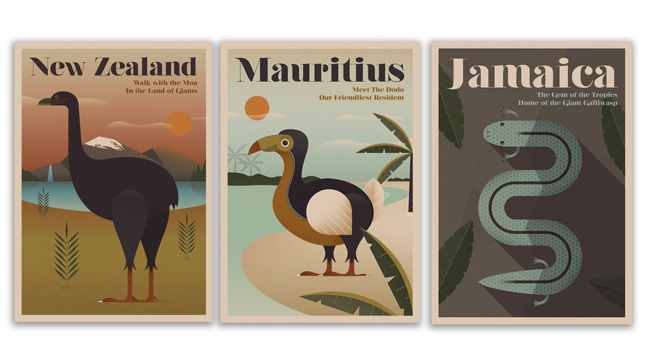 expedia endangered animal travel posters