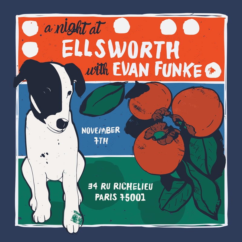 Evan Funke at Ellsworth in Paris