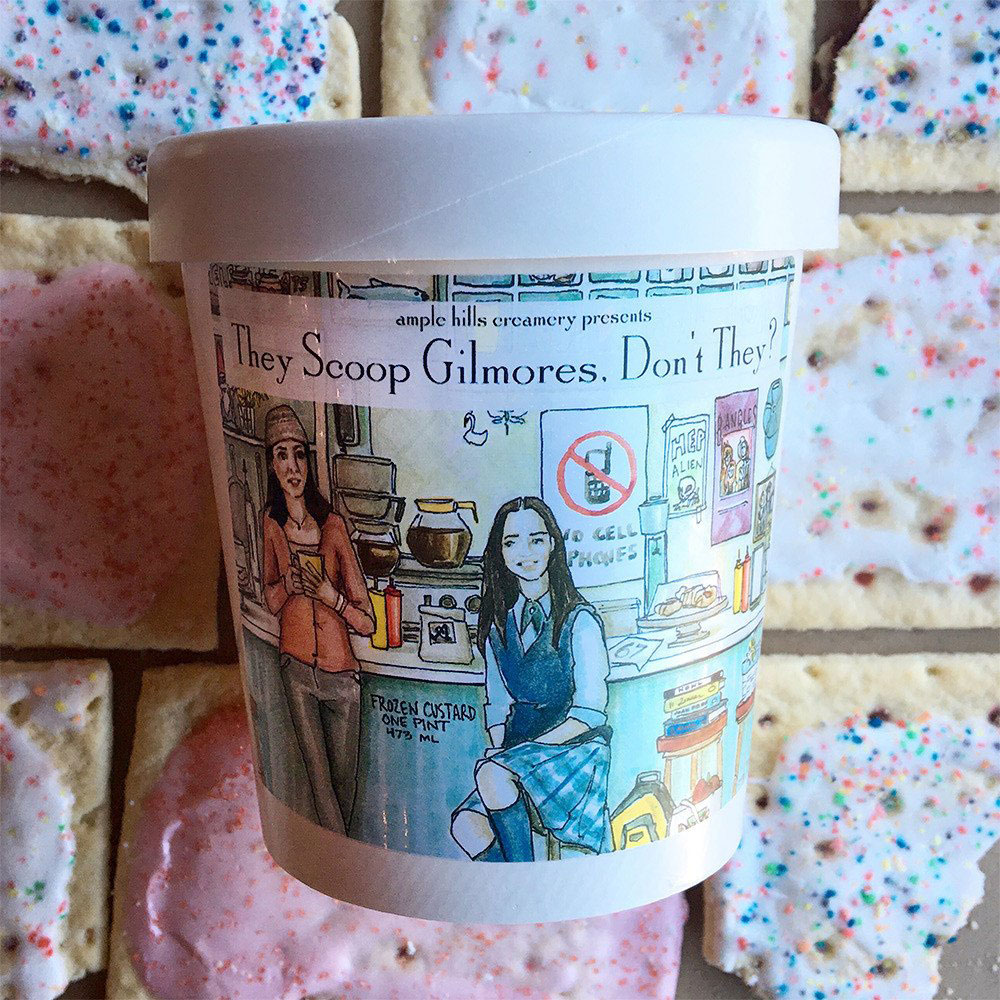 GIlmore Girls Ice Cream