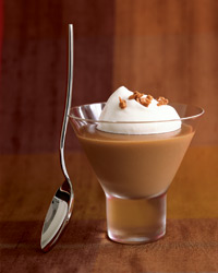 Creamy Butterscotch Pudding with Toffee