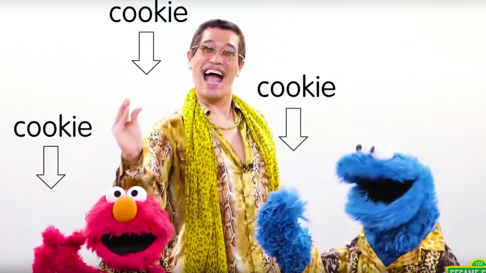 Pen-Pineapple-Apple-Pen Sesame Street