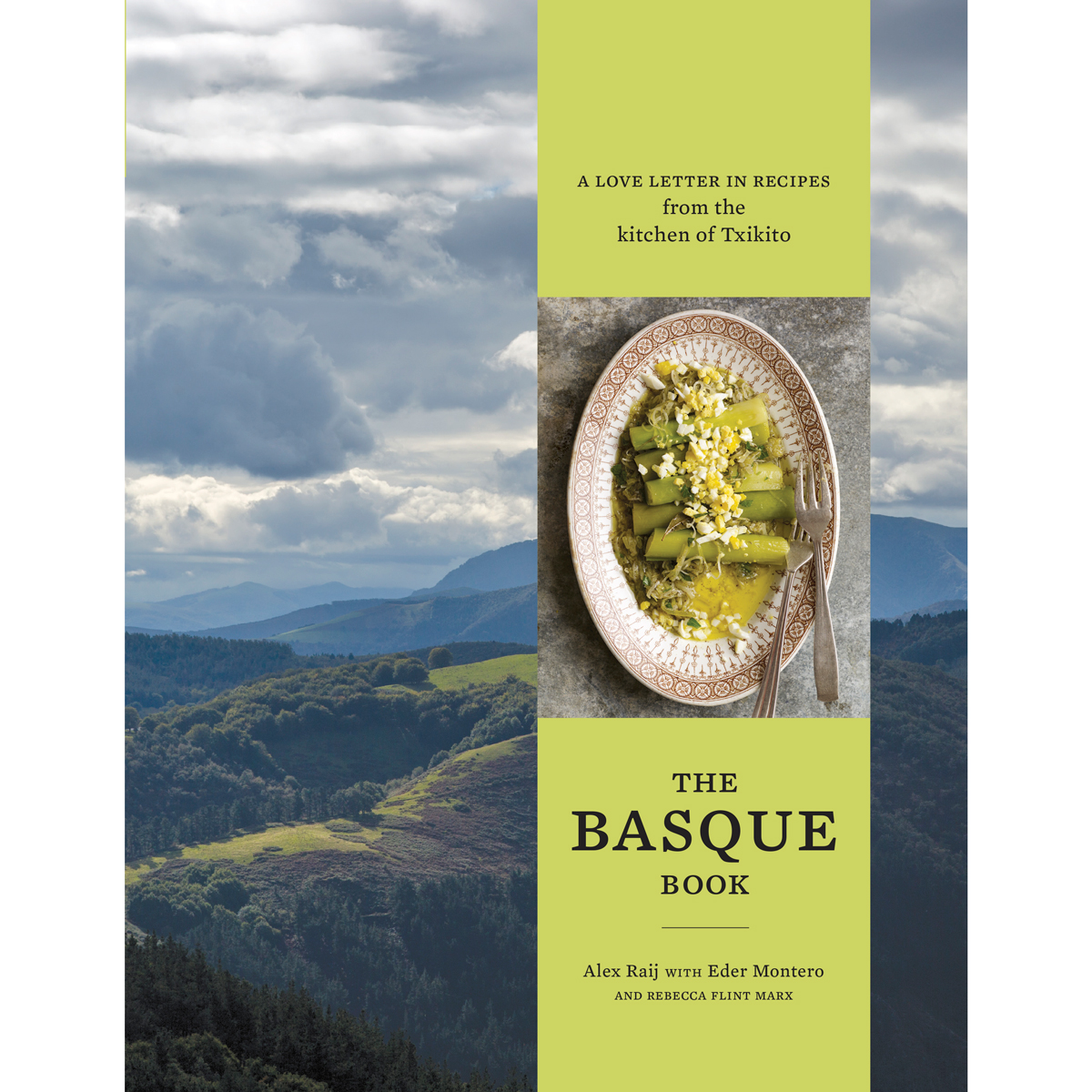 The Basque Book by Alex Raij