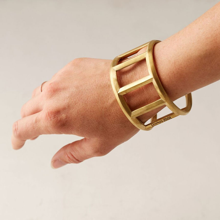 Umbra Brass Bottle Opener Cuff, $30