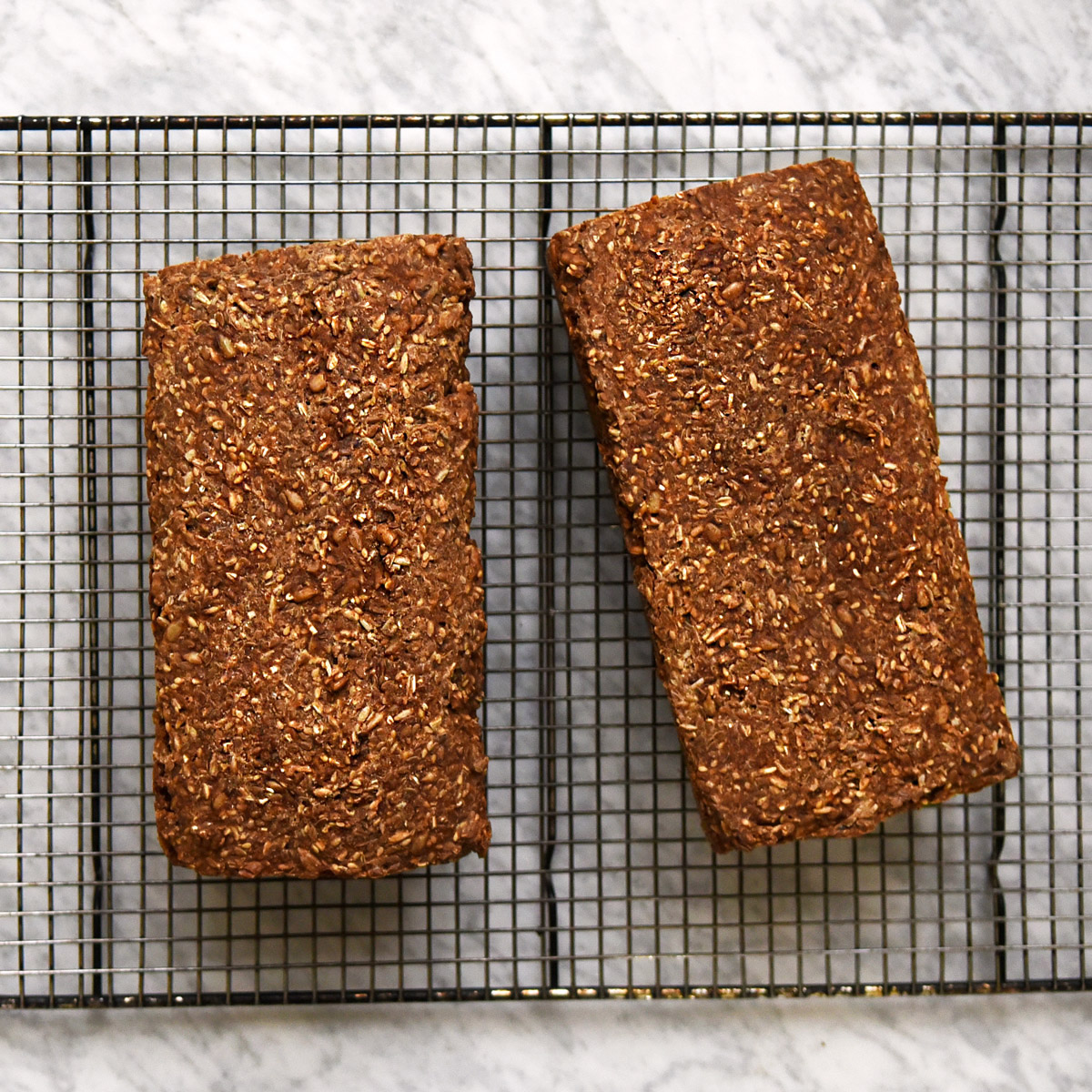 Easy Seeded Rye Bread