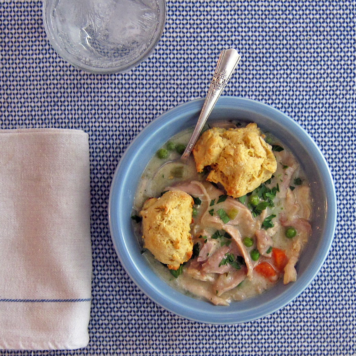 Chicken with Cornmeal Dumplings