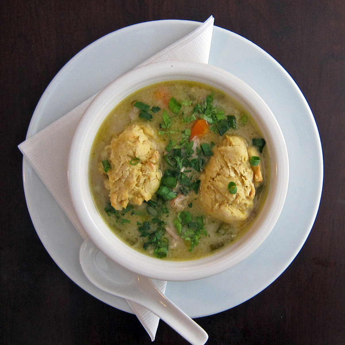 Chinese Chicken with Dumplings