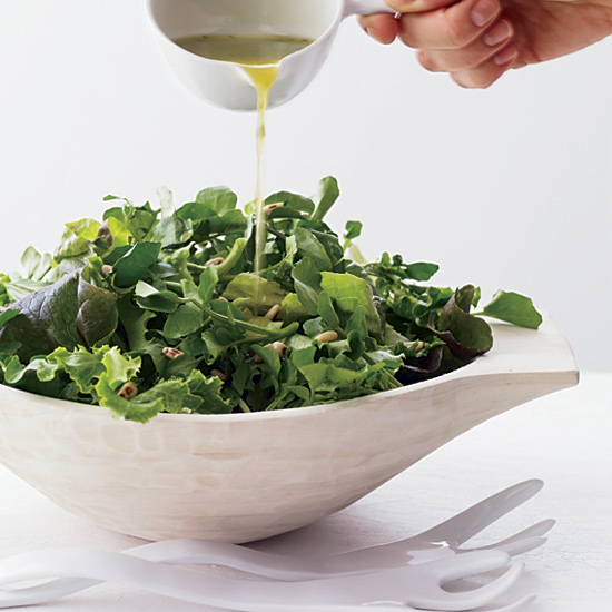 Watercress Salad with Toasted Pine Nuts