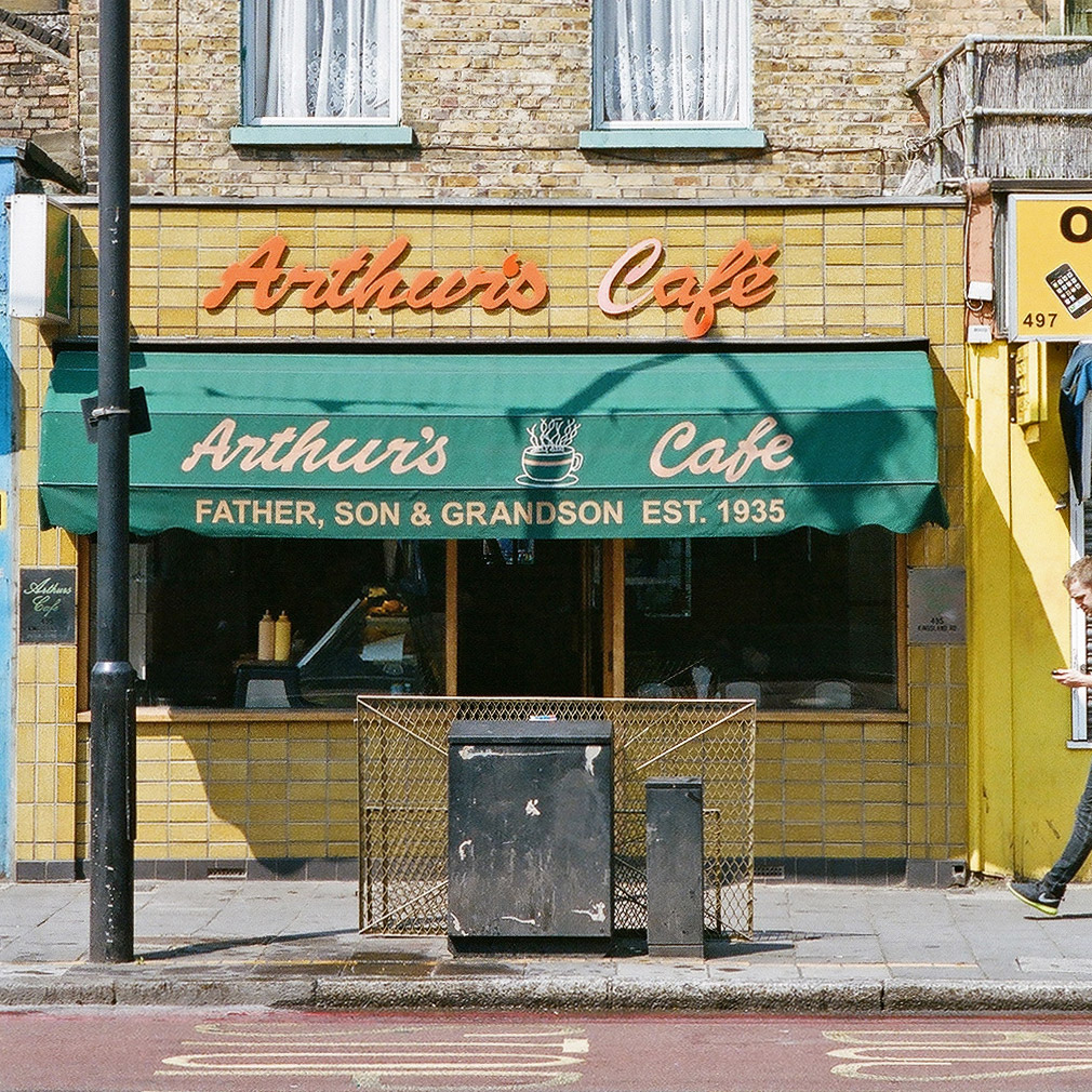 Arthur's Cafe. London