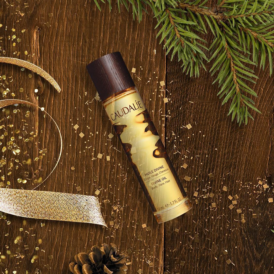 wine beauty products caudalie oil
