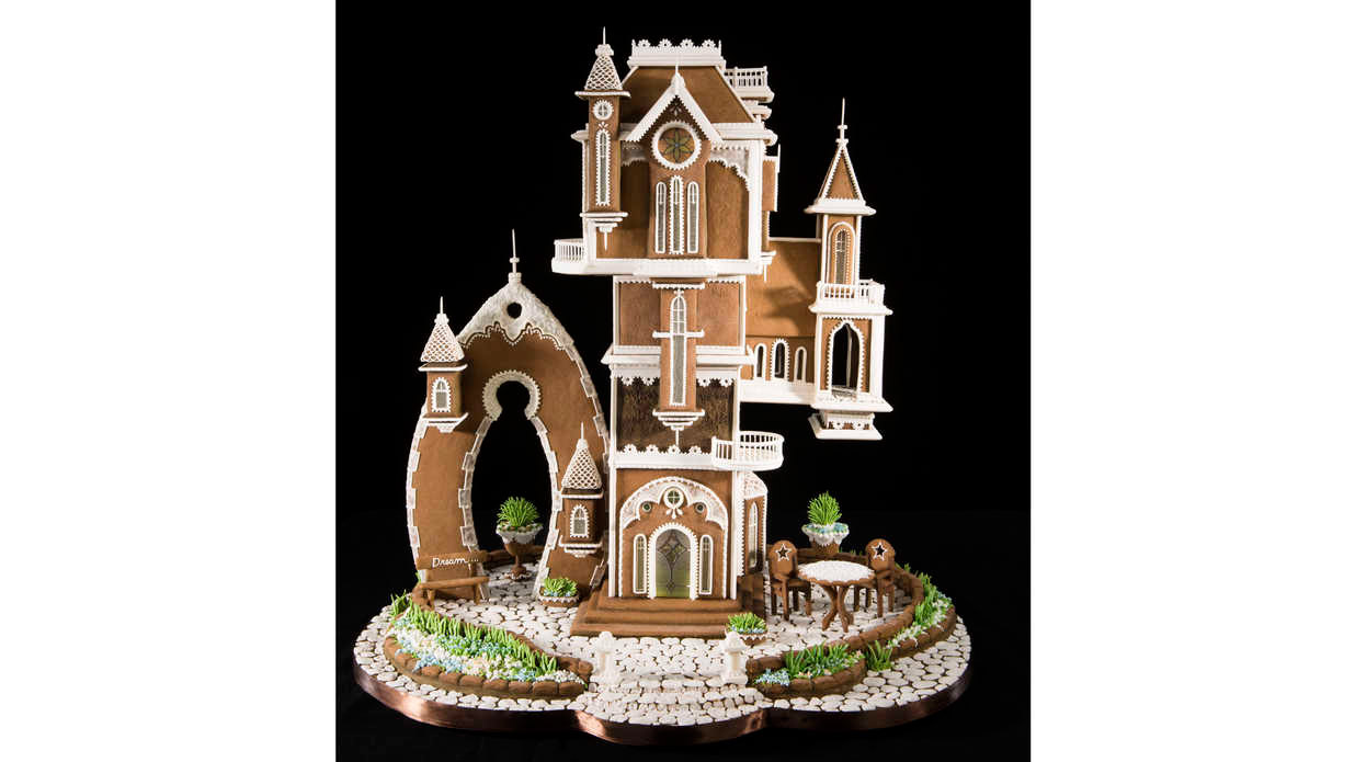 The National Gingerbread House Competition's Winning Designs Are Absolutely Incredible