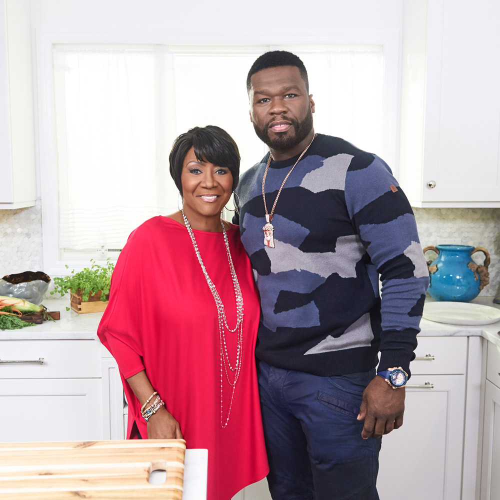 Patti LaBelle and 50 Cent Cook