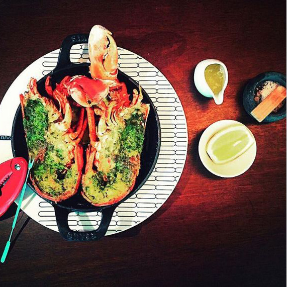 Rivea - Grilled Lobster