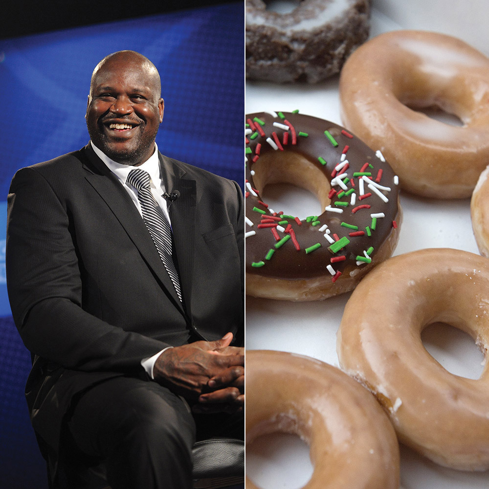 Shaq Buys Krispy Kreme Location