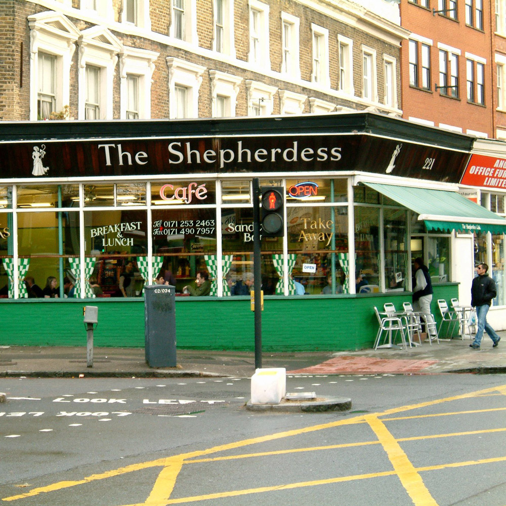 Shepherdess Cafe, London