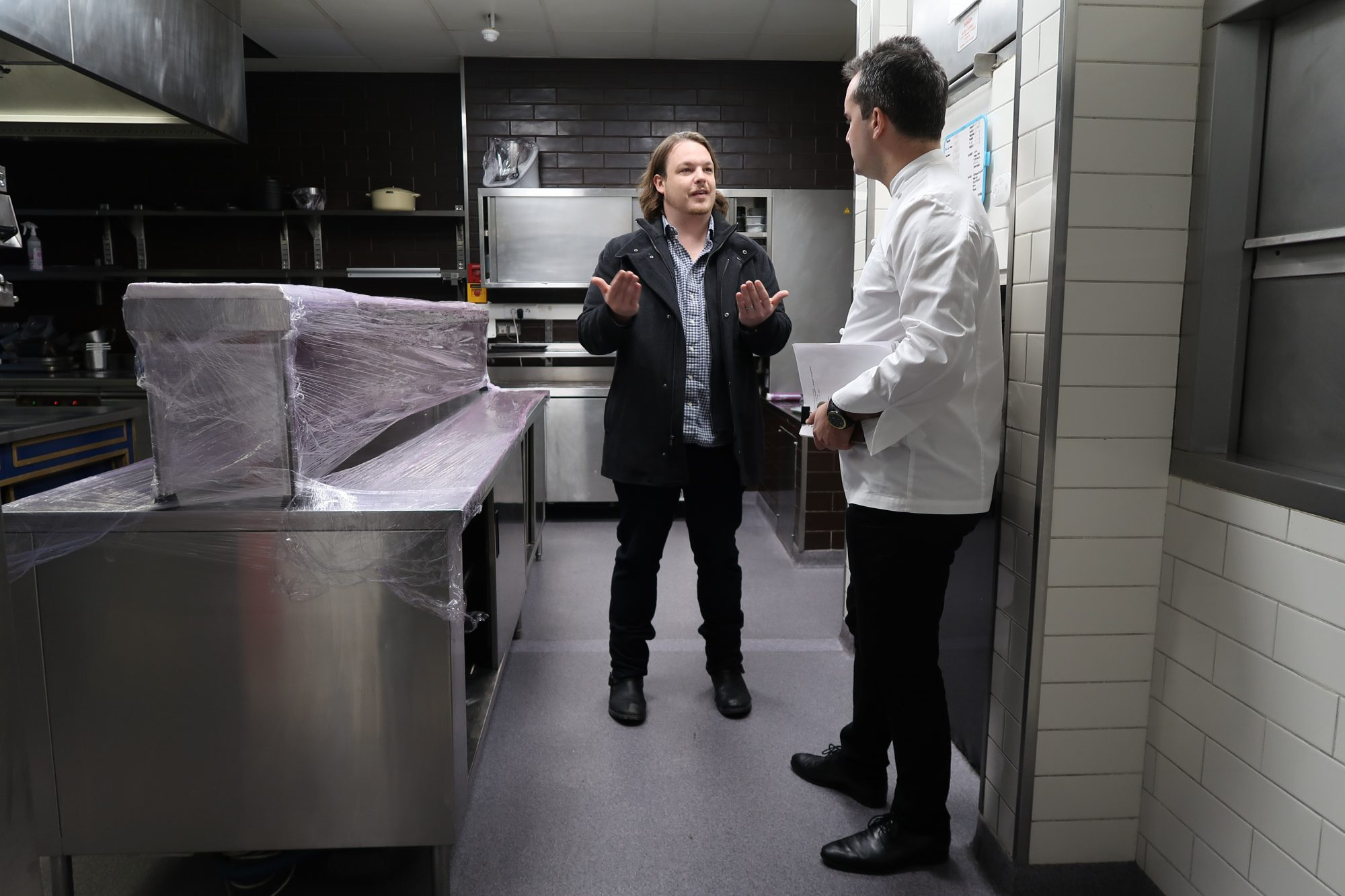 Behind the Scenes With Brad Kilgore at A Taste of Waldorf in ...