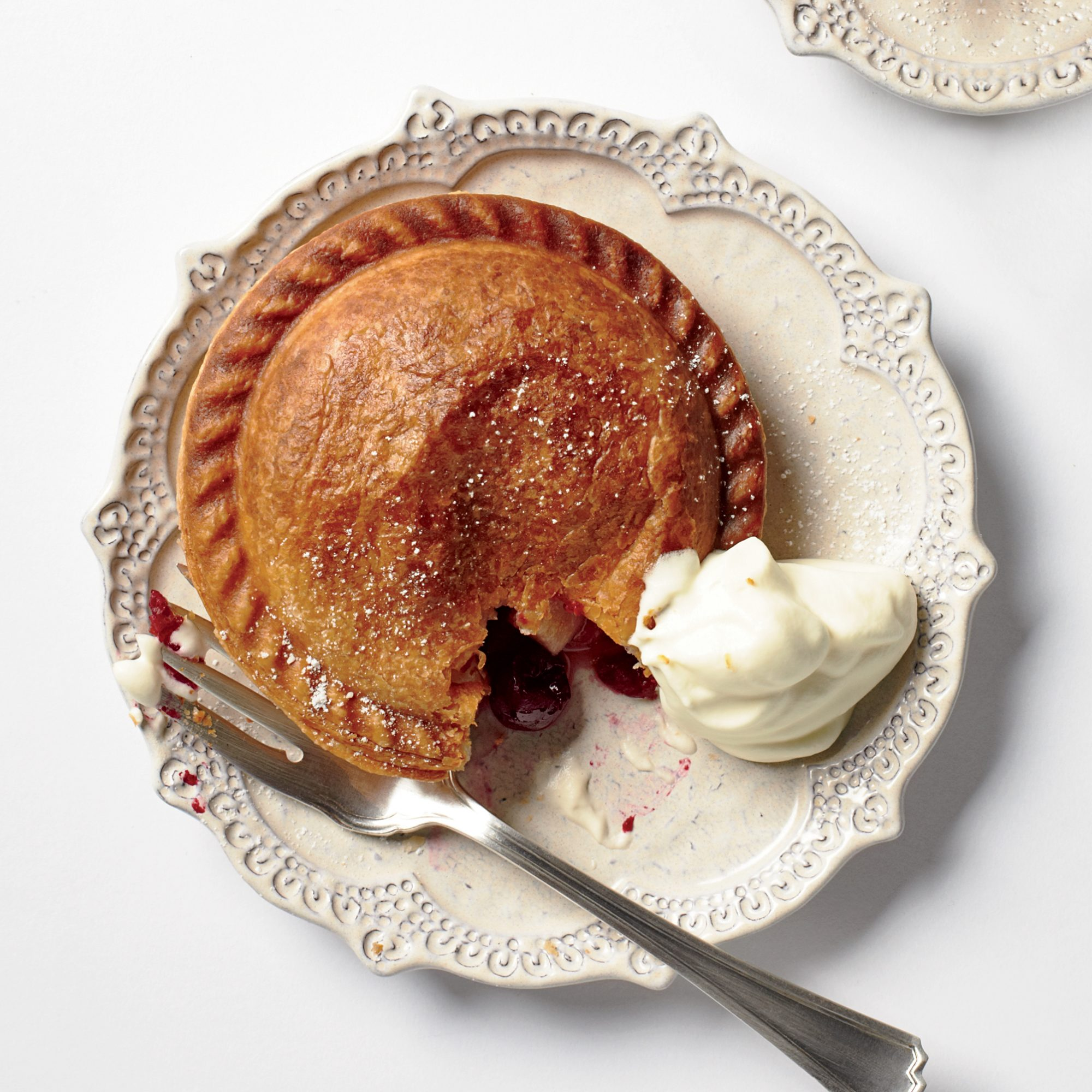 Thanksgiving Recipes for Kids Like Pear-Cranberry Hand Pies