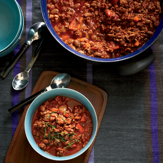Turkey-and-Pinto Bean Chili