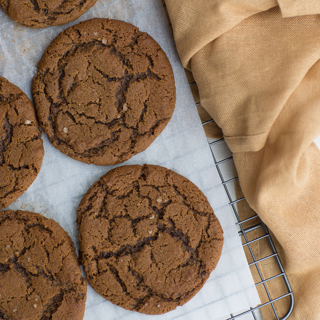 Krista's Baking Co., molasses, cookie