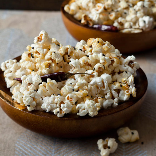 Sesame-Chile Kettle Corn