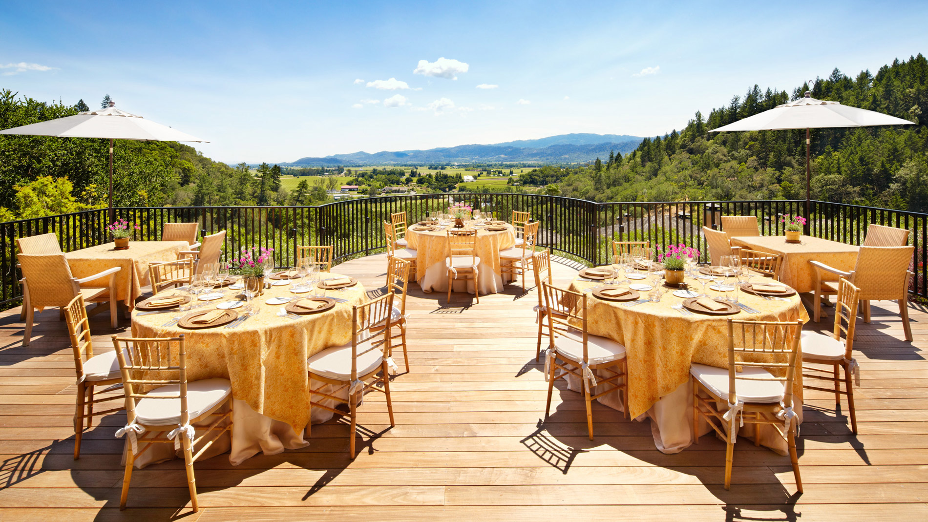 Best wedding venues in napa valley food wine for Best wedding locations in us