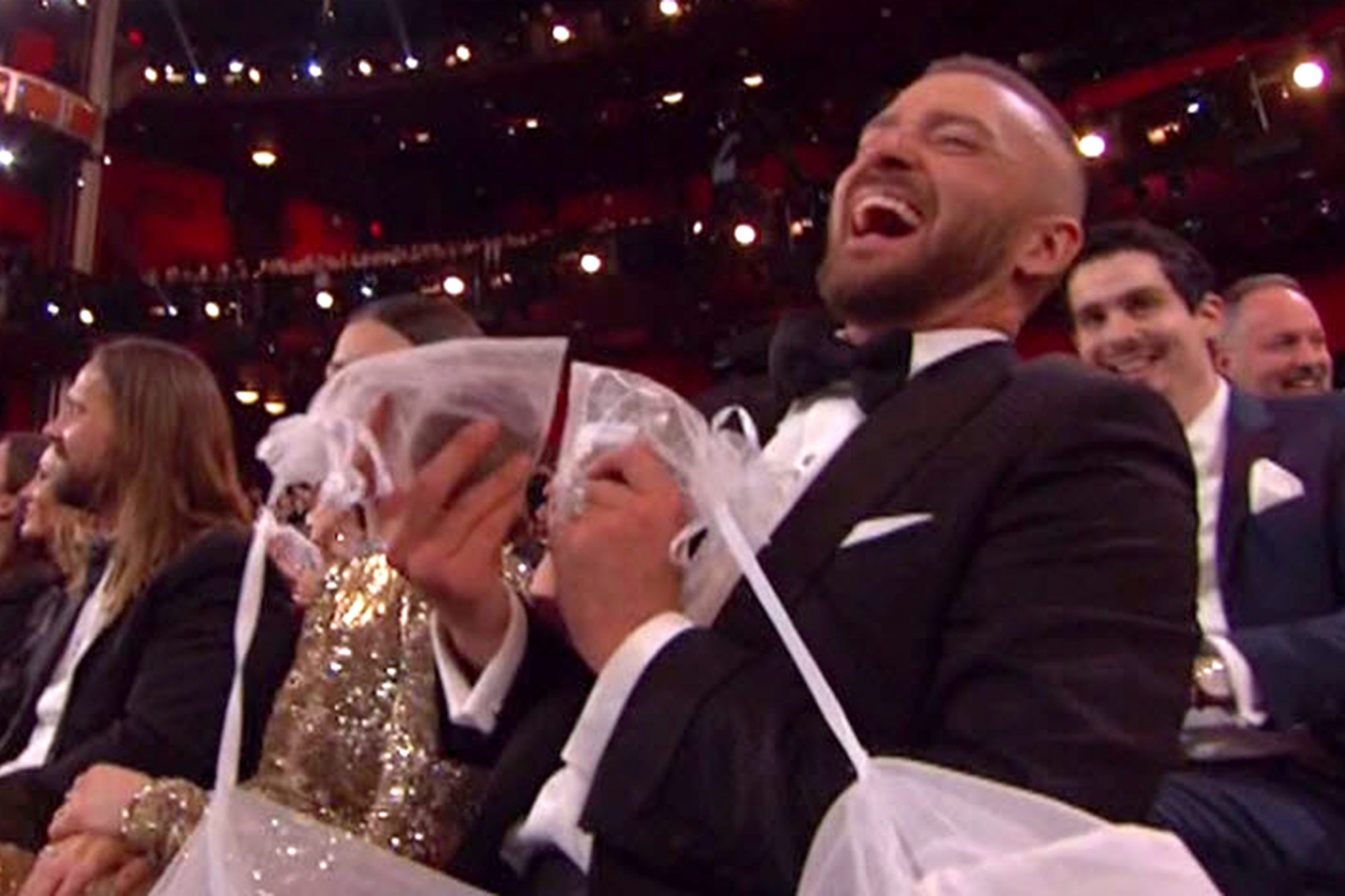 Cookies and Doughnuts! Jimmy Kimmel Makes It Rain Carbs at the Oscars