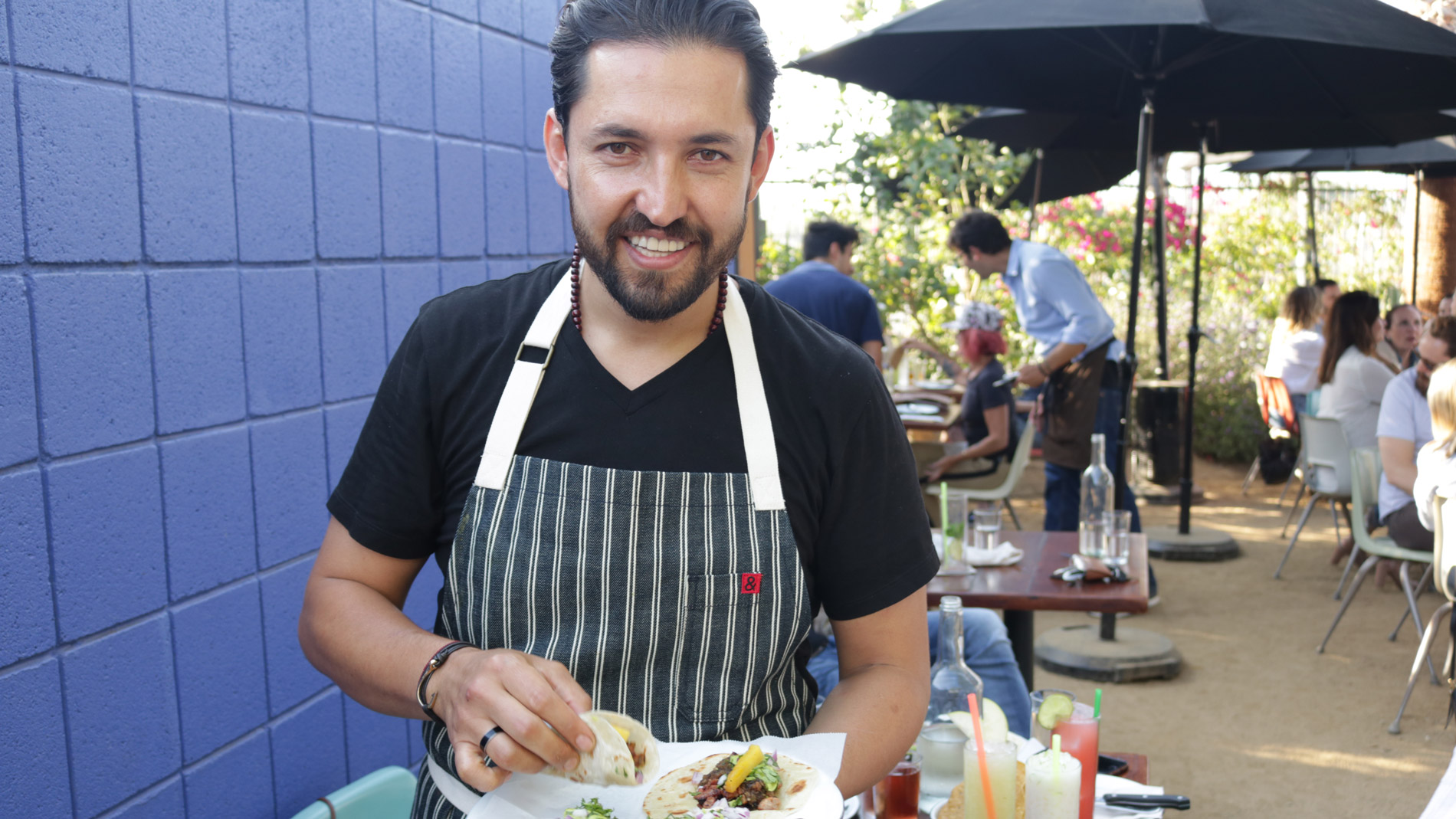 How Selling Tacos in a Parking Lot Saved This Chef's Life