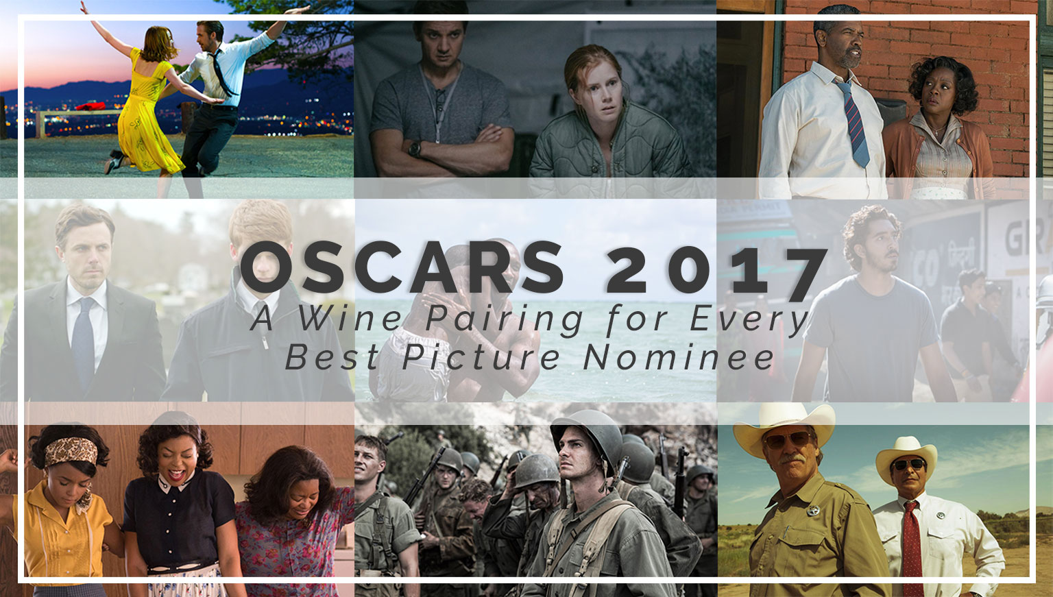 Oscars 2017: What to Drink While You Binge-Watch the Best Picture Nominees
