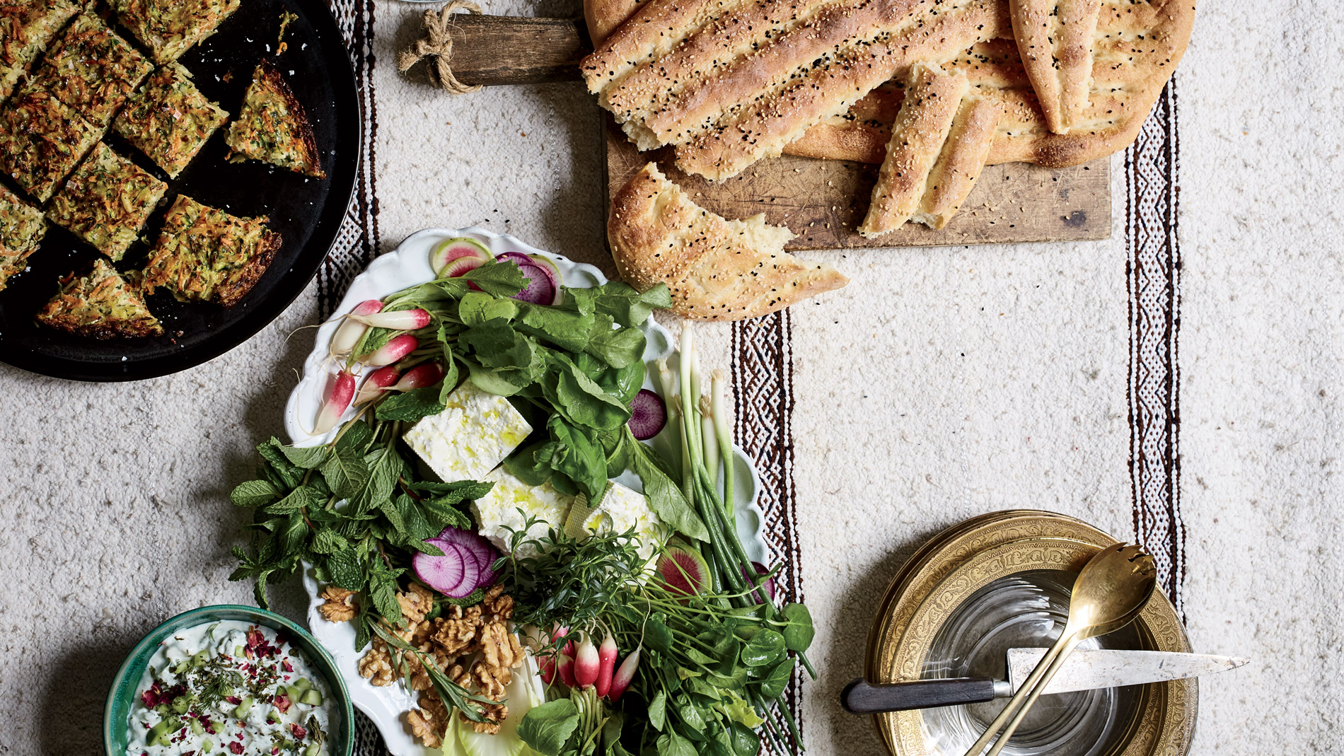 F&W Editor in Chief Nilou Motamed's Persian New Year Celebration ...