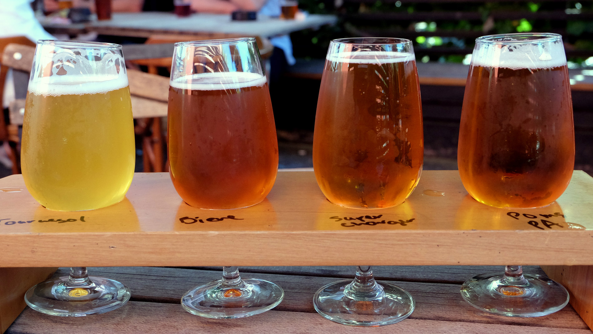 Pomeroy's Beer Flight