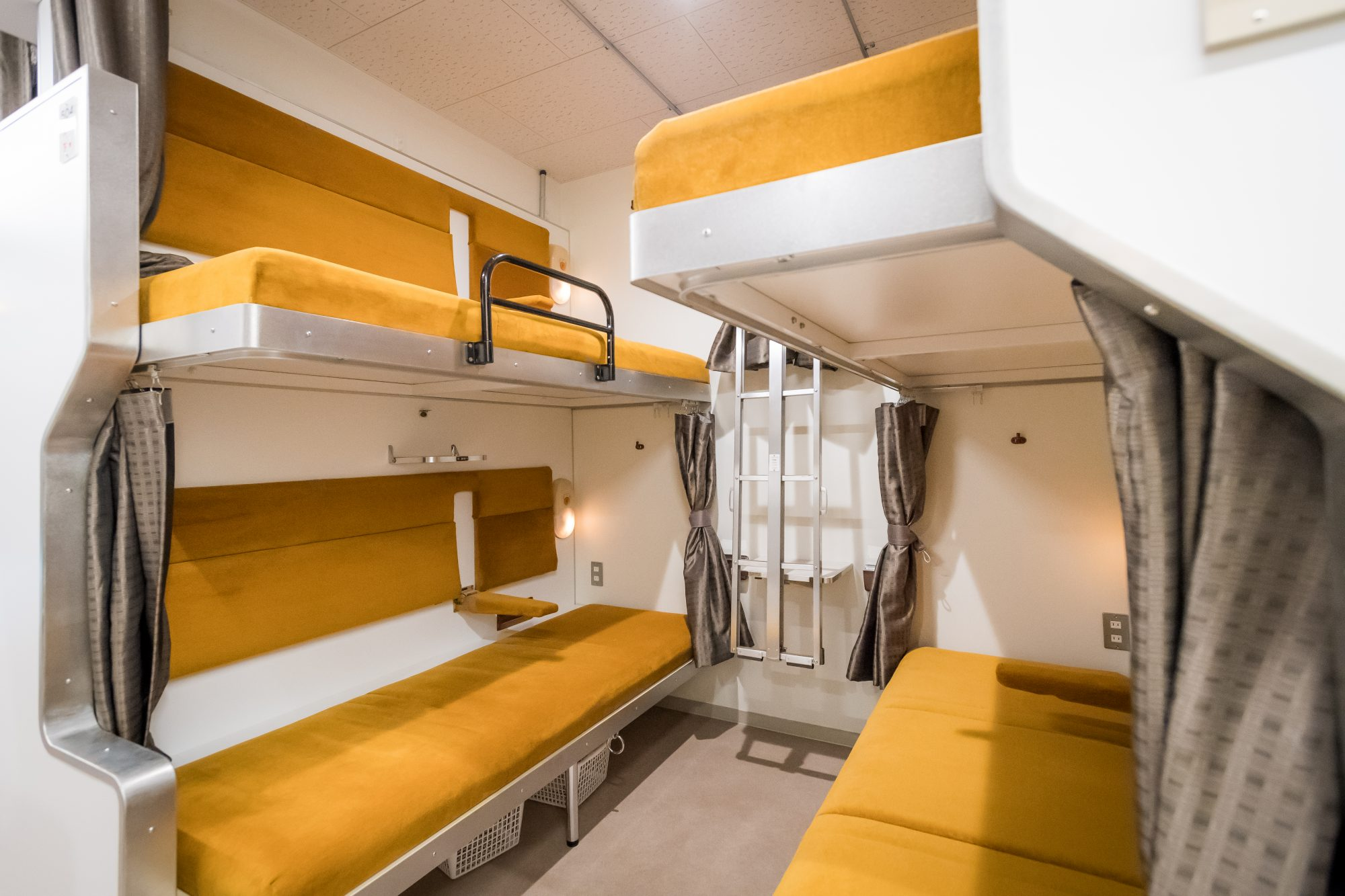 We're in Love With This Sleeper Train-themed Hostel in Tokyo