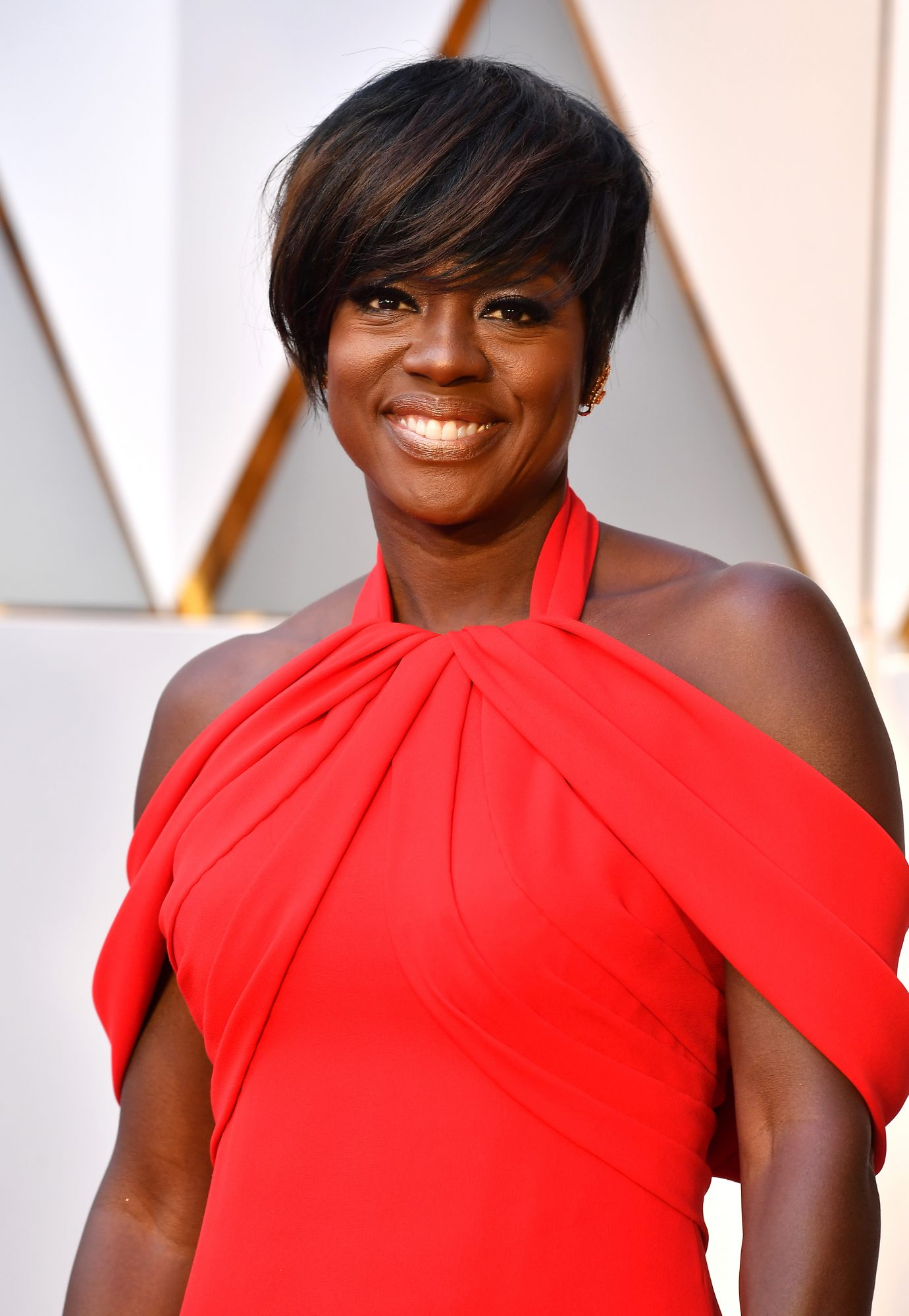 Viola Davis attends the 89th Annual Academy Awards at Hollywood & Highland Center