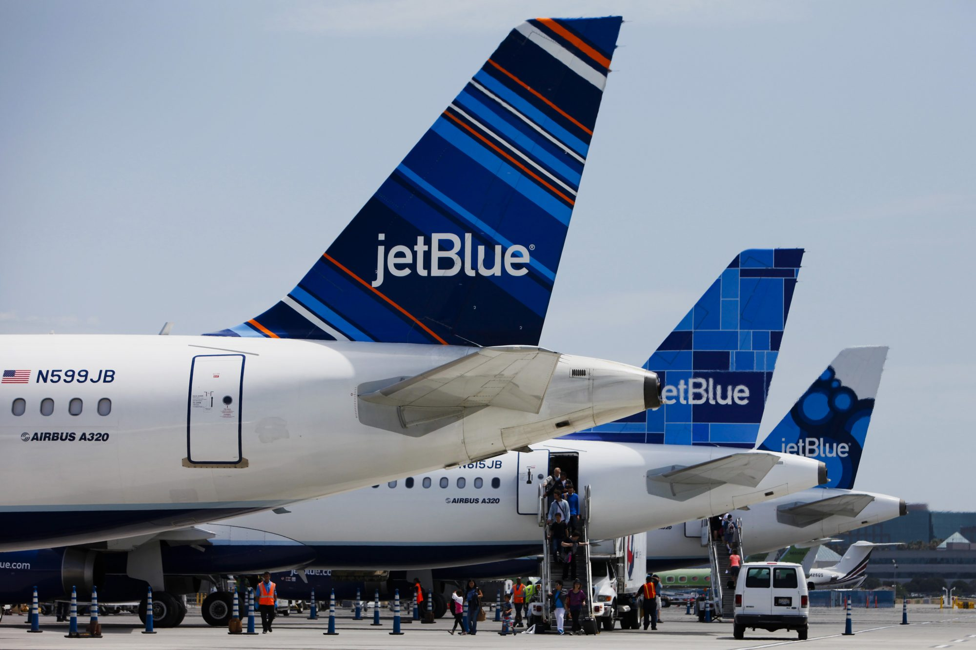 JetBlue Terminal At Long Beach Airport Ahead Of Earnings Figures