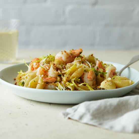 <p>Louisiana: Shrimp Pasta</p>