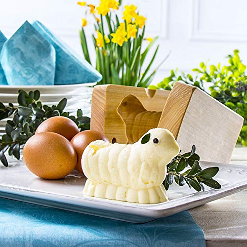 Lamb Wooden Butter Mold
